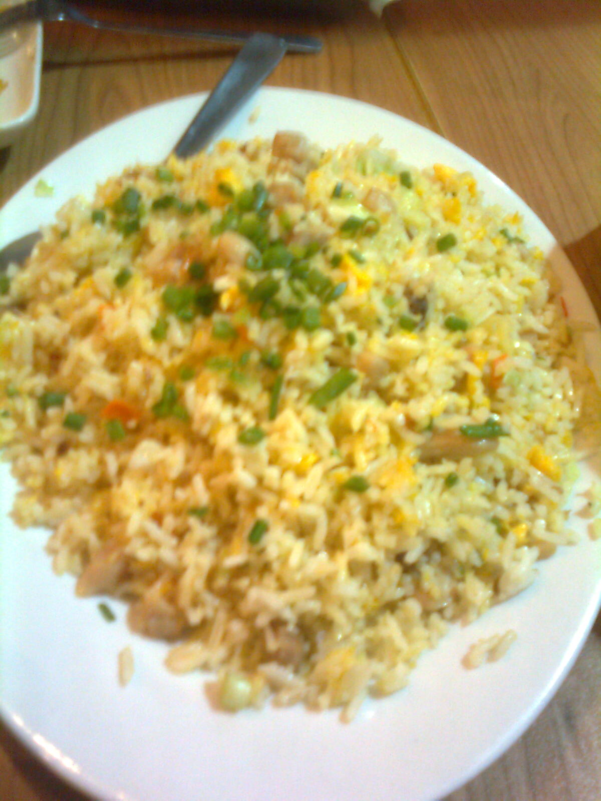 Super bowl of china i am complicated for Fish fried rice
